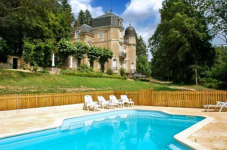 chateau in Burgundy