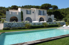 sea view villa in st tropez
